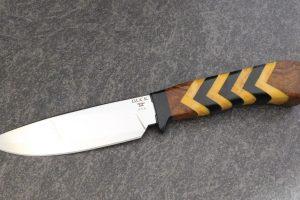 Buck Custom Yellow Jacket Fixed Blade