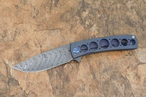 Brad Zinker FR Flipper, Boomerang Damascus